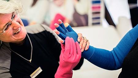 Lymphödem am Arm: Versorgung von medi -