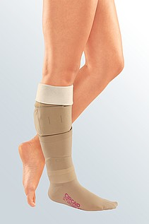 wound treatment compression inelastic leg