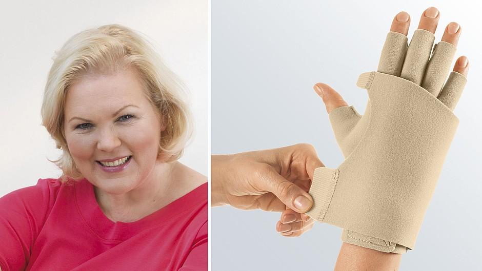 Circaid Juxtafit glove dorsum strap