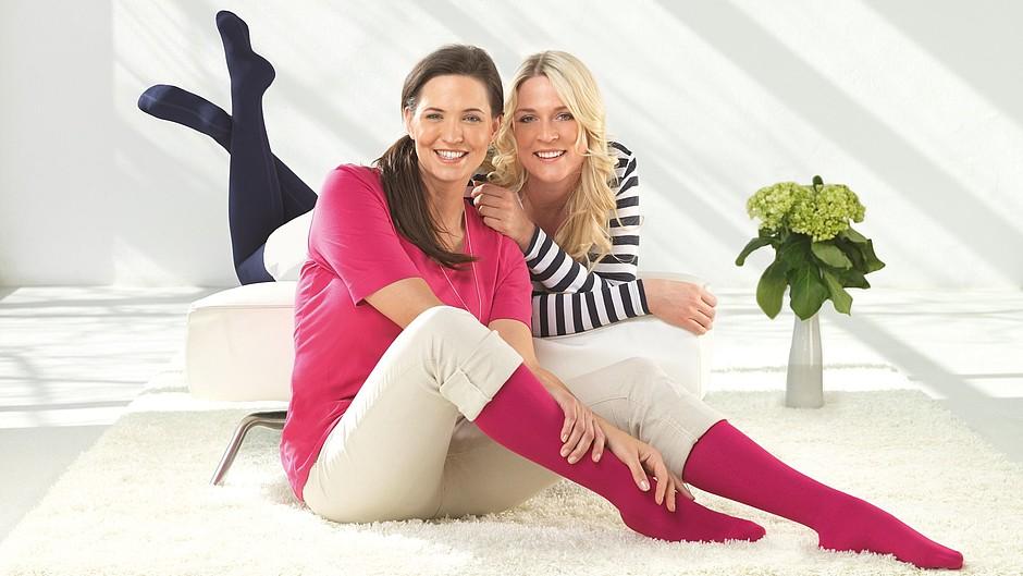 Mediven 550 leg: compression stockings edema