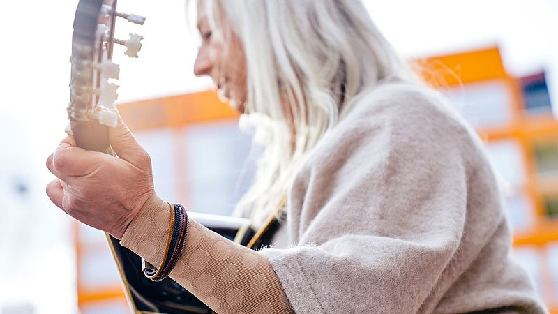 mediven compression stockings flat fashion element dots knit trend colours 2021