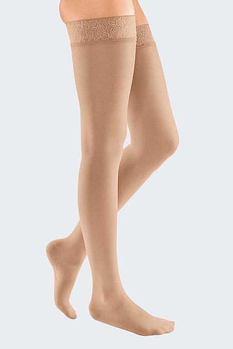 mediven elegance compression stockings sand